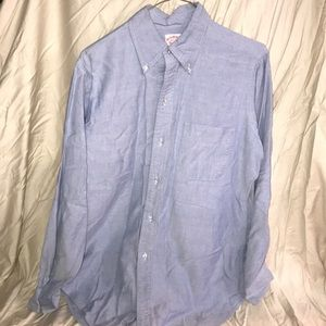 LIKE NEW MENS BROOKS BROTHERS BUTTON DOWN SHIRT